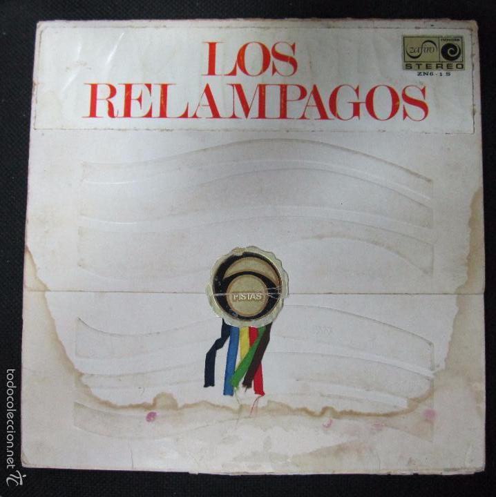 LP. LOS RELAMPAGOS. (Música - Discos de Vinilo - EPs - Grupos Españoles 50 y 60)