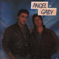 Discos de vinilo: ANGEL Y GABY -VEN AMIGA VEN / SIN MAS - LP MAXISINGLE CBS DE 1986 ,RF- 470 , BUEN ESTADO. Lote 60895171