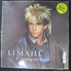 Discos de vinilo: MAXI SINGLE. LIMAHL. ONLY FOR LOVE. 1983. Lote 60903207