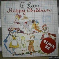 Discos de vinilo: P. LION HAPPY CHILDREN ( REMIX 88). Lote 60907523