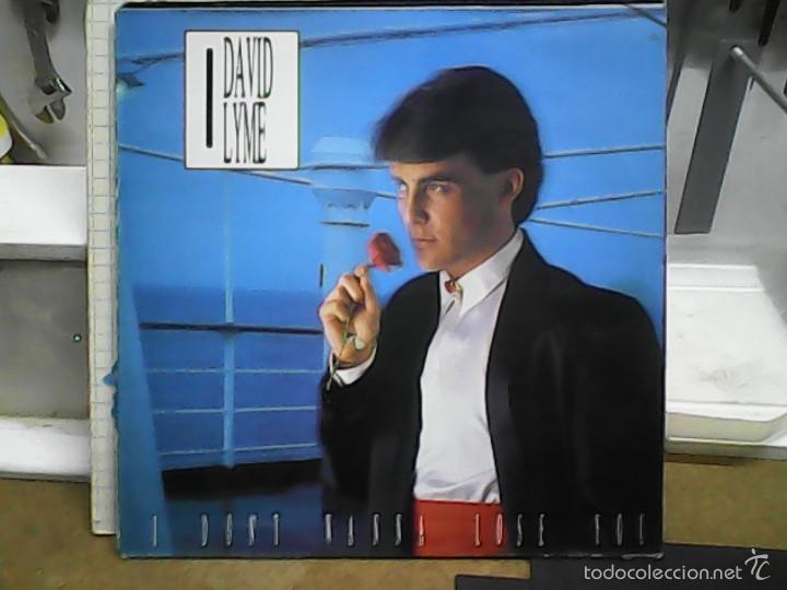 DAVID LYMEI DON´T WANNA LOSE YOU (Música - Discos de Vinilo - Maxi Singles - Disco y Dance)