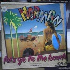Discos de vinilo: NORMANLET´S GO TO THE BEACH. Lote 60907803