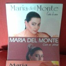 Discos de vinilo: MARIA DEL MONTE ,LOTE DE 3 LP DE VINILO . Lote 60916827