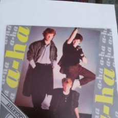 Discos de vinilo: A-HA TAKE ON ME - THE SUN ALWAYS SHINES ON TV. Lote 60918303