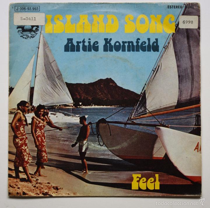 ARTIE KORNFELD - ISLAND SONG (Música - Discos - Singles Vinilo - Pop - Rock - Extranjero de los 70)