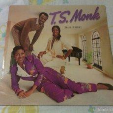 Discos de vinilo: LP VINILO T.S. MONK - HOUSE OF MUSIC / ORIG. SPAIN 1980 ATLANTIC / DISCO FUNK SOUL. Lote 60920623