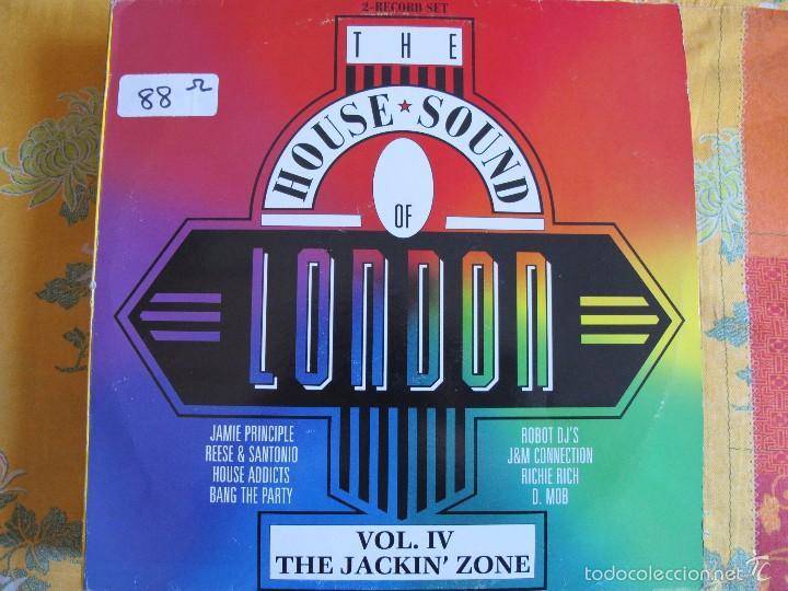 LP - THE HOUSE SOUND OF LONDON - VARIOS (DOBLE DISCO, SPAIN, LONDON RECORDS 1989) VER FOTO ADJUNTA (Música - Discos - LP Vinilo - Disco y Dance)