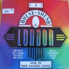 Discos de vinilo: LP - THE HOUSE SOUND OF LONDON - VARIOS (DOBLE DISCO, SPAIN, LONDON RECORDS 1989) VER FOTO ADJUNTA. Lote 60942183