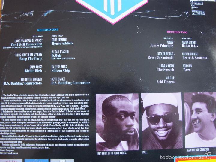 Discos de vinilo: LP - THE HOUSE SOUND OF LONDON - VARIOS (DOBLE DISCO, SPAIN, LONDON RECORDS 1989) VER FOTO ADJUNTA - Foto 2 - 60942183