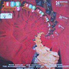Discos de vinilo: LP - NOW 5 - VARIOS (DOBLE DISCO, SPAIN, RCA RECORDS 1988) VER FOTO ADJUNTA. Lote 60942503