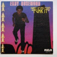 Discos de vinilo: EDDY ROSEMOND - (WAKE UP AND MOVE) FUNK IT. Lote 60950067