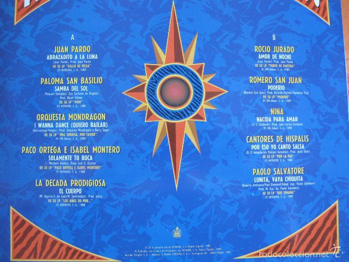Discos de vinilo: LP - QUE PODERIO - VARIOS (SPAIN, HISPAVOX 1989) VER FOTO ADJUNTA - Foto 2 - 60950519