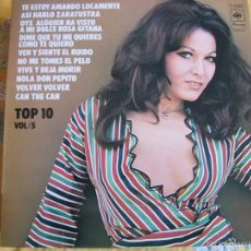 Discos de vinilo: LP - TOP 10 VOL. 5 - VARIOS (SPAIN, CBS 1974)VER FOTO ADJUNTA. Lote 60951619