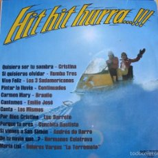 Discos de vinilo: LP - HIT HIT HURRA - VARIOS (SPAIN, BELTER 1974) VER FOTO ADJUNTA. Lote 60951779