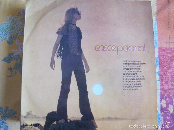 LP - EXCEPCIONAL - VARIOS (SPAIN, BELTER 1970) VER FOTO ADJUNTA (Música - Discos - LP Vinilo - Solistas Españoles de los 70 a la actualidad)