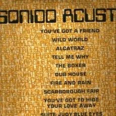Discos de vinilo: LP SONIDO ACUSTICO ( GRUPO MI GENERACION ) TEMAS DE BEATLES, CAT STEVENS, STEPHEN STILLS, PAUL SIMON. Lote 60960671