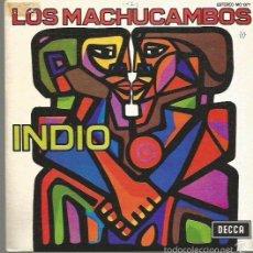 Discos de vinilo: LOS MACHUCAMBOS SINGLE SELLO DECCA EDITADO EN ESPAÑA AÑO 1973, PROMOCIONAL. Lote 60961471