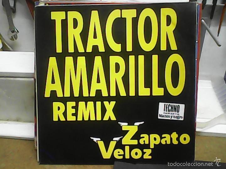 ZAPATO VELOZTRANCTOR AMARILLO REMIX (Música - Discos de Vinilo - Maxi Singles - Techno, Trance y House)