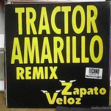 Discos de vinilo: ZAPATO VELOZTRANCTOR AMARILLO REMIX. Lote 60976927