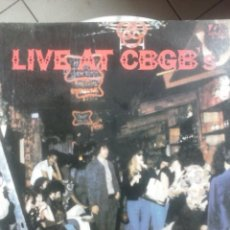 Discos de vinilo: LIVE AT CBGB ´S - THE HOME OF UNDERGROUND ROCK .. Lote 60977103