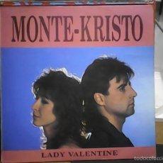 Discos de vinilo: MONTE KRISTOLADY VALENTINE. Lote 60977295