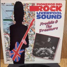 Discos de vinilo: FREDDIE AND THE DREAMERS. PIONEROS DEL ROCK. LIVERPOOL SOUND. LP / EMI - 1986. ***/***. Lote 60977495