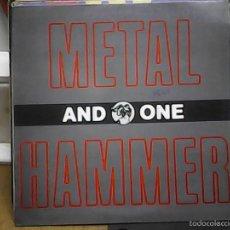Discos de vinilo: METAL HAMMERAND ONE. Lote 60977703