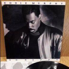 Discos de vinilo: EDDIE MURPHY. SO HAPPY. LP / COLUMBIA - 1989 / MBC. ***/***. Lote 60981967