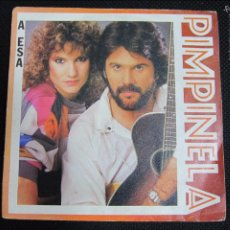 Discos de vinilo: SINGLE. PIMPINELA. 1984. Lote 60984527