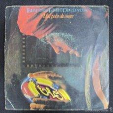 Discos de vinilo: SINGLE. ELECTRIC LIGHT ORCHESTRA. UN POCO DE AMOR. JUNGLA.. Lote 60987071