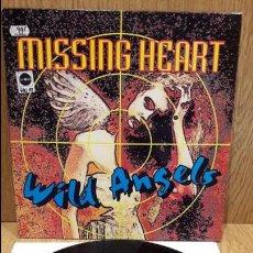 Discos de vinilo: MISSING HEART. WILD ANGELS. MAXI SG / ARIOLA - 1994 / MBC. ***/***. Lote 60989239