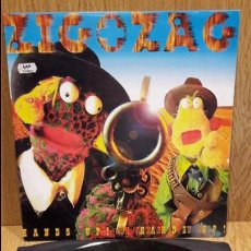 Discos de vinilo: ZIG AND ZAG. HANDS UP ! HANDS UP ! MAXI SG / RCA - 1996 / MBC. ***/***. Lote 60990443