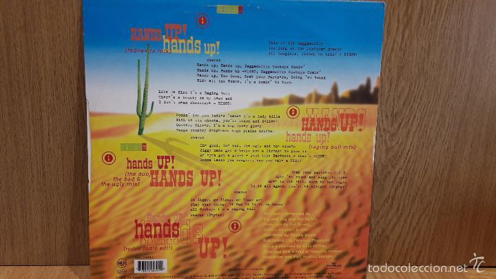 Discos de vinilo: ZIG AND ZAG. HANDS UP ! HANDS UP ! MAXI SG / RCA - 1996 / MBC. ***/*** - Foto 2 - 60990443