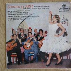 Discos de vinilo: SERNITA DE JEREZ EP NM GUITARRA PACO AGUILERA NO TE GUARDO RENCOR COLUMBIA 1962 ADELA LA CHAQUETA. Lote 60994563