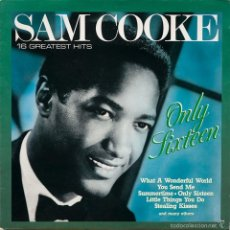 Discos de vinilo: SAM COOKE – 16 GREATEST HITS ONLY SIXTEEN. Lote 60995299