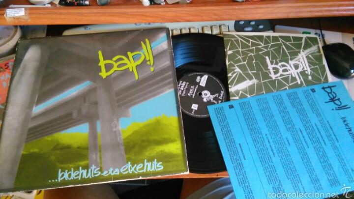 BAP!! LP ...BIDEHUTS ETA ETXEHUTS.1988.CON LIBRETO Y ENCARTE (Música - Discos - LP Vinilo - Punk - Hard Core)
