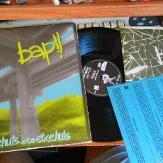 Disques de vinyle: BAP!! LP ...BIDEHUTS ETA ETXEHUTS.1988.CON LIBRETO Y ENCARTE. Lote 60995886
