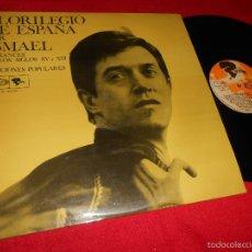 Discos de vinilo: ISMAEL FLORILEGIO DE ESPAÑA ROMANCES SIGLOS XV+XVI CANCIONES POPULARES LP 1968 BARCLAY . Lote 61009855