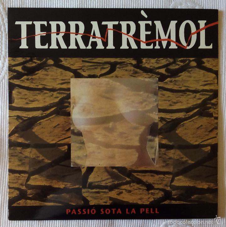 TERRATREMOL, PASSIO SOTAL LA PELL (PICAP) LP - ENCARTE (Música - Discos - LP Vinilo - Grupos Españoles de los 90 a la actualidad)