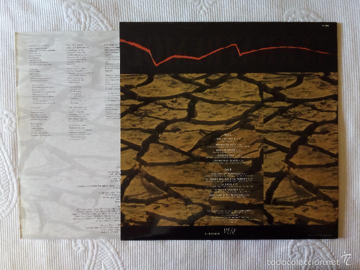 Discos de vinilo: TERRATREMOL, PASSIO SOTAL LA PELL (PICAP) LP - ENCARTE - Foto 2 - 61026167