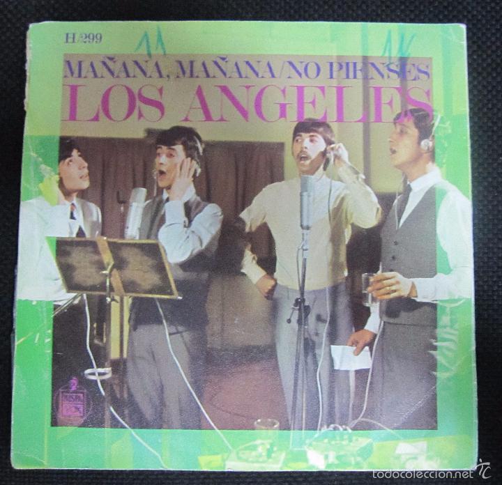 Discos de vinilo: SINGLE. LOS ANGELES. MAÑANA, MAÑANA/NO PIENSES. - Foto 2 - 61026559