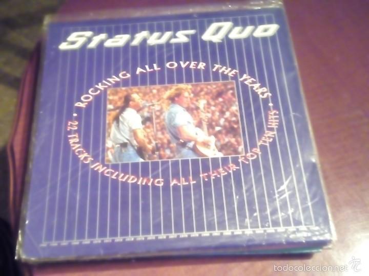 STATUS QUO ROKING ALL OVER THE YEARS , CONTIENE 2 DISCOS LEER DESCRIPCCION (Música - Discos - LP Vinilo - Techno, Trance y House)