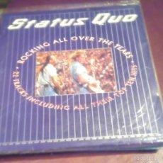 Discos de vinilo: STATUS QUO ROKING ALL OVER THE YEARS , CONTIENE 2 DISCOS LEER DESCRIPCCION. Lote 61026591