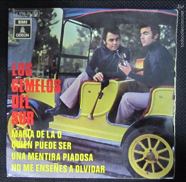 SINGLE. LOS GEMELOS DEL SUR. MARIA DE LA O. QUIEN PUEDE SER. (Música - Discos - Singles Vinilo - Grupos Españoles 50 y 60)