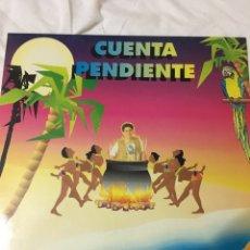 Discos de vinilo: CUENTA PENDIENTE-HORUS 1992-NUEVO. Lote 61031741