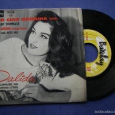 Discos de vinil: DALILA CIAO CIAO BAMBINA + CE SERAIT DOMMAGE + 2 EP BARCAY 70 230 PEPETO. Lote 61035243