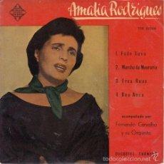 Discos de vinilo: AMALIA RODRIGUES - FADO XUXU - R@RE SPANISH EP 45 SPAIN 1958 TELEFUNKEN. Lote 61057971