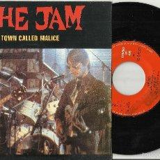 Discos de vinilo: THE JAM SINGLE PROMOCIONAL A TOWN CALLED MALICE.ESPAÑA 1982. Lote 61061035