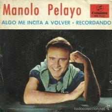 Disques de vinyle: MANOLO PELAYO. SINGLE PROMOCIONAL. SELLO COLUMBIA. EDIT EN ESPAÑA . AÑO 1967. Lote 61068411