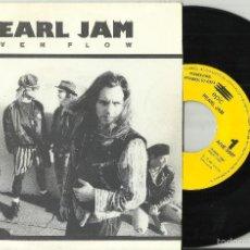 Disques de vinyle: PEARL JAM SINGLE PROMOCIONAL EVEN FLOW 1992 ESPAÑA.POR UNA SOLA CARA /3. Lote 118263283